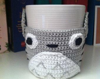 Totoro mug cosy pattern