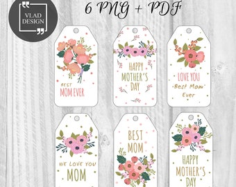 mothers day stickers etsy. Black Bedroom Furniture Sets. Home Design Ideas