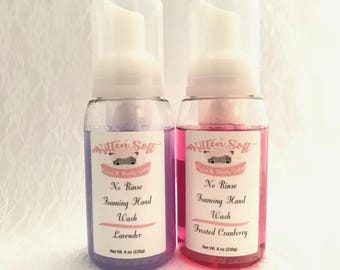 No Rinse Foaming Hand Wash with extra conditioning