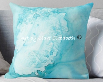 Ocean Luna 9 Throw Pillow