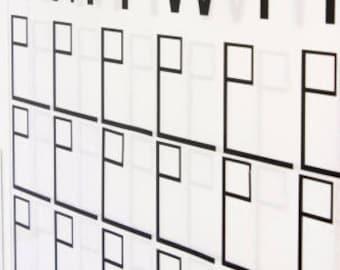 Replacement Sheet for Wall Calendar