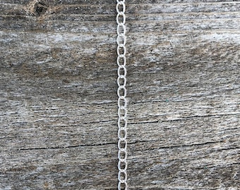 Silver filled 2.5mm curb chain (sold by the foot) (800SF-10)