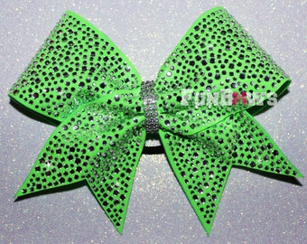 BEAUTIFUL full out  rhinestone cheer bow by FunBows ! - Customize This !