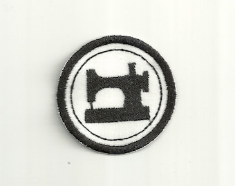 """2"""" Machine Sewing Merit Badge, Patch! Any Color combo! Custom Made!"""