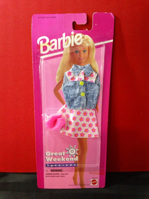 Barbie de Mattel vintage de los años 90 gran traje de moda fin