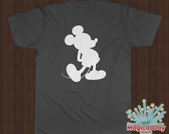 Disney Shirts - Mickey Mouse (White Design)