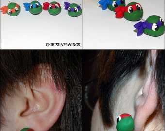 TMNT Teenage Mutant Ninja Turtle Earrings