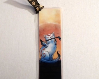 Okami Kabegami Laminated Bookmark