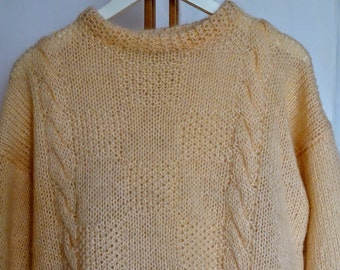 Vintage 80s Wool Mohair Sweater