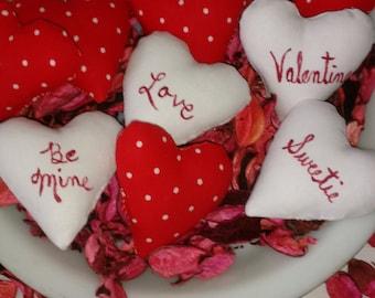 Valentine Hearts Ornament, Bowl Filler