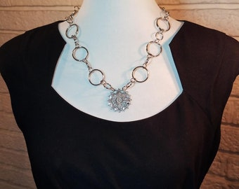 Necklace Chain & Filigree Focal
