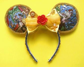 Beauty and the Beast Ears | Belle | Mickey Ears | Minnie Ears