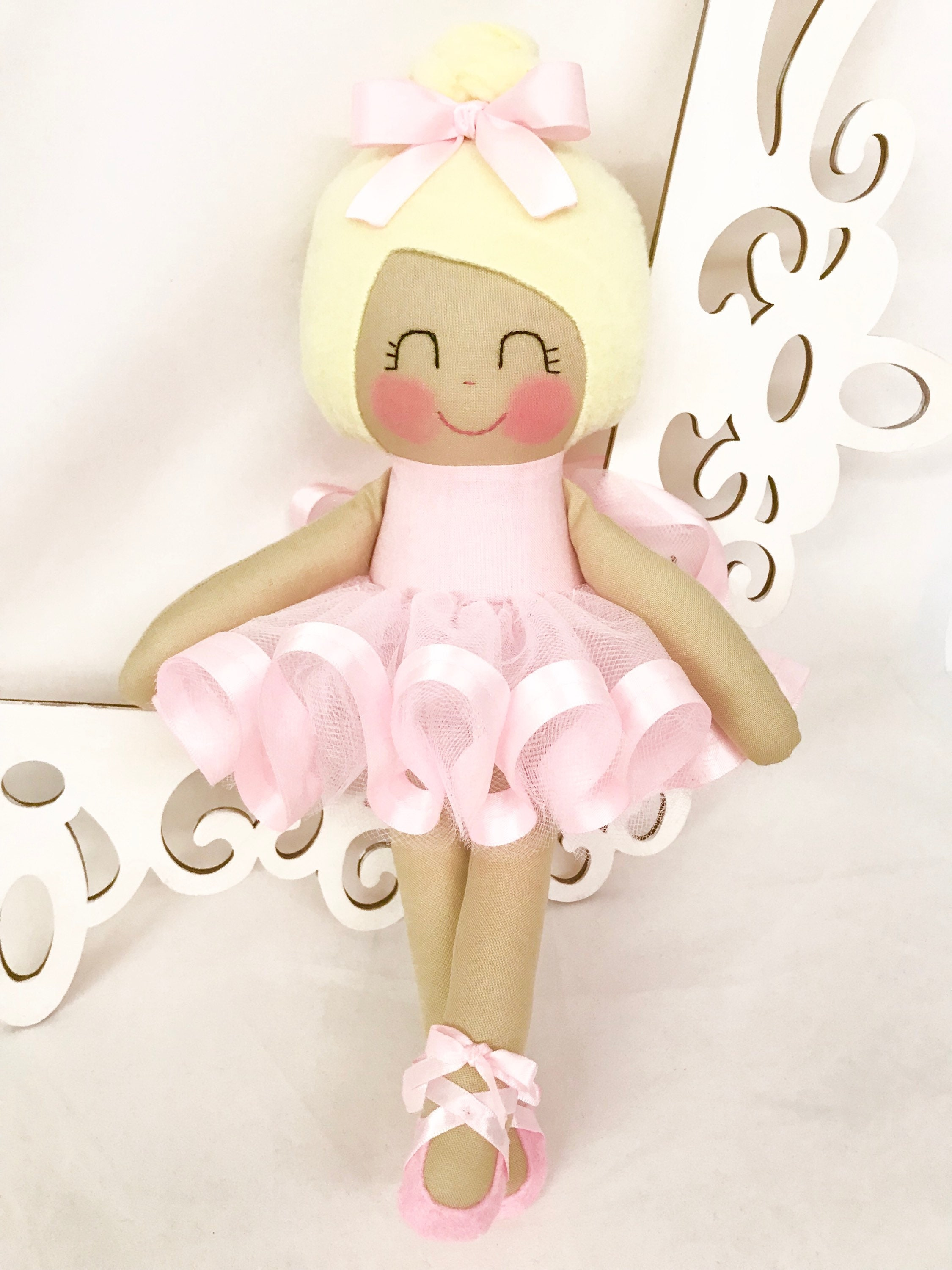 Ballerina Doll Fabric Dolls Cloth Baby Doll Dancing Doll