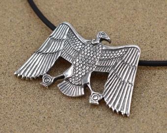 Nekhbet Pendant - Ancient Egyptian Vulture Goddess - Sterling Silver