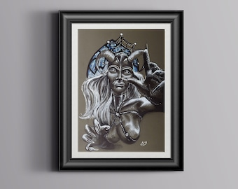 Hag, original artwork