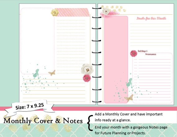 monthly daily planner