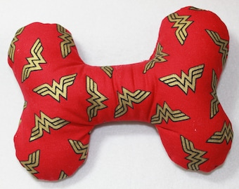 Wonder Woman Dog Bone Toy
