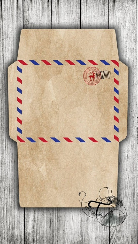 Perfect Airmail Envelope Template Inspiration   Example Resume Ideas .