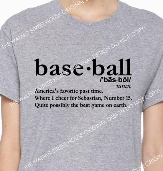 Excellent Baseball Definition Shirt ORIGINAL DESIGN Baseball Mom GB63