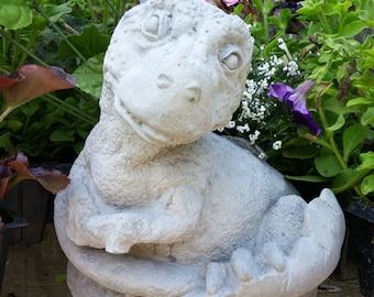 Concrete T-REX DINOSAUR Garden Statue