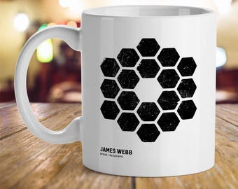 James Webb Space Telescope Geek Astronomy Universe Fan Inspirational Humor Office Gift Coffee Cup Mug