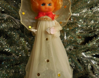 Vintage Angel Tree Topper