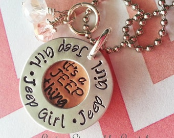 It's A Jeep Thing Necklace