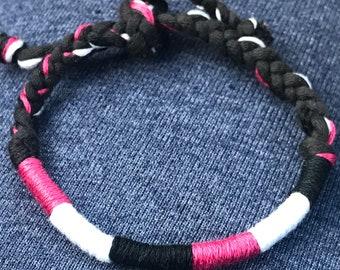 T-Mobile Inspired Bracelets - Color block