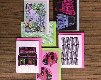 Assorted Six Greeting Cards deal for those who love to give gifts and mark special occasions with a greeting card Pack No 39