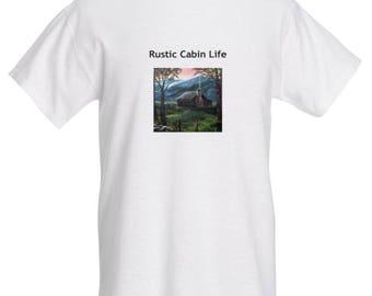 T-shirt - Rustic Cabin Life