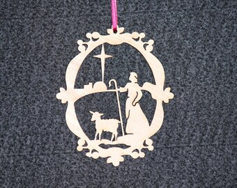 shepherd ornament