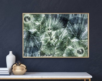 Mineral Photography - (Print # 099)  Seraphinite   - Fine Art Print - Two Paper Choices- Mineral Geode Agate Crystal Decor