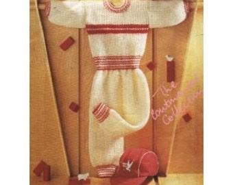 knitting pattern tracksuit - sweater pants dk 16/24 in pdf