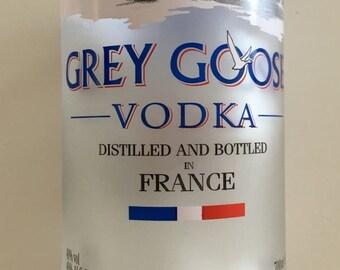Grey Goose Upcycled Tumbler Drinking Glass
