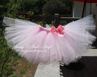 Baby pink tutu. cake smash tutu. Baby girl tutu. Birthday tutu. Pick your colors!!!!