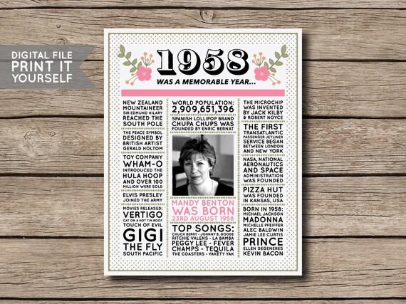 invitation 60e anniversaire de naissance