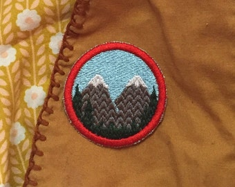 Twin Peaks merit badge 2in. Sew-on patch
