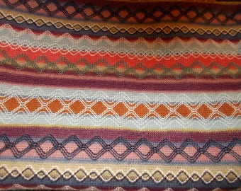 Knit Fabric Aztec Knit - this is textured, feels almost like sweater
