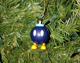 Nintendo Super Mario Bros. Christmas Ornament Bob-omb