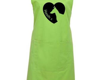 Dog Apron with Heart