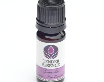 Lavender Essential Oil (French). Aromatherapy 10ml Bottle.