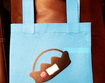 Jughead Jones mini tote bag, jughead beanie tote, Easter stuffer, Easter teen gift, jughead jones tote, teen gift, Riverdale, Easter basket