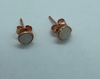 925 Silver earrings and stone