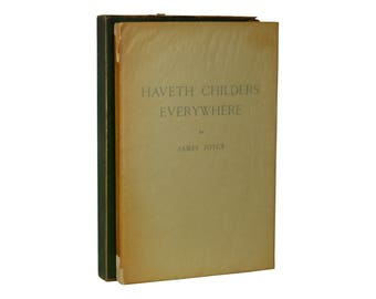 Haveth Childers Everywhere ~ JAMES JOYCE ~ First Edition ~ 1st Printing 1930