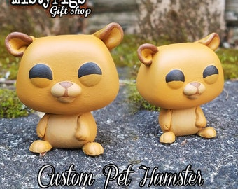 Pet Hamster - Custom Funko Pop