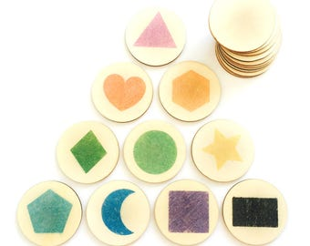 shapes - memory match | my little set | wooden game | story stones | memory match |