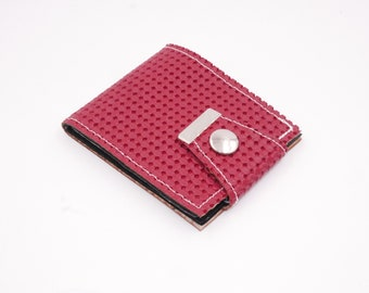 VW Red Volkswagon Material Wallets