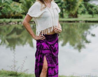 Elephant // Elephant Skirt // Skirt // Hippie Skirt // Bohemian // Hippie // Festival Skirt // Festival Boho Skirt // Boho Festival Skirt