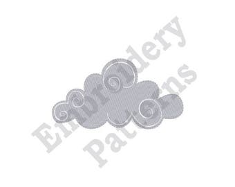 Fluffy Cloud - Machine Embroidery Design