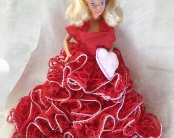Valentine/Christmas Doll decoration